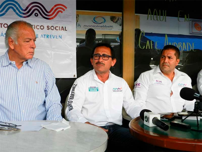 Pide Roberto Martinez al Ieqroo y al INE promover el voto