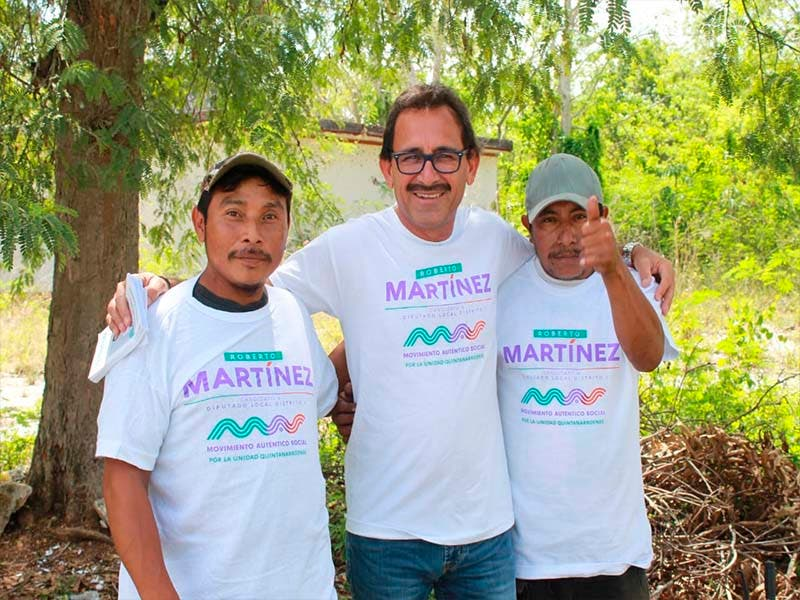 Protección a la vida silvestre, difusión de cultura maya y servicios médicos pidieron lazarocardenences a Roberto Martínez