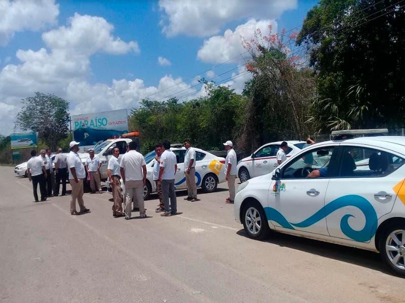 Instituto de Movilidad detiene conflicto entre taxistas de Lázaro Cárdenas