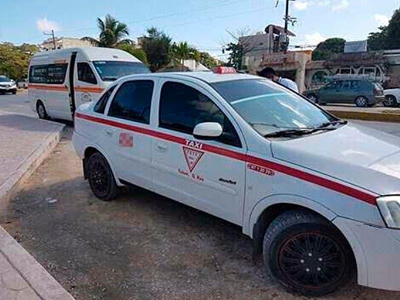 Varios lesionados tras efrentamiento entre transportistas de Tulum
