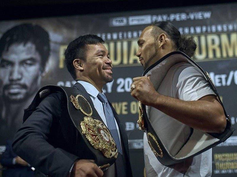 """""""Será la última pelea de este hombre"""": Keith Thurman sobre Manny Pacquiao"""