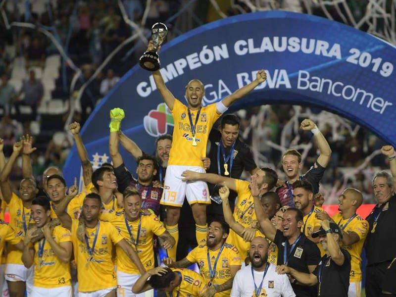 Liga MX: Tigres Campeón del Clausura 2019