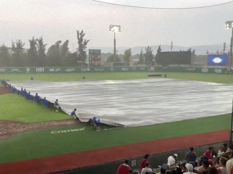 LMB: Lluvia suspende juego de Tigres de Quintana Roo y Bravos de León