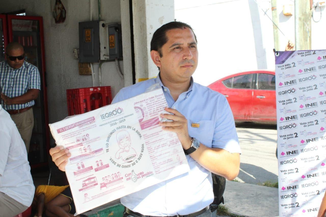 Entrega de 90 mil papeles para envoltura de tortilla en las ciudades de Chetumal, Playa del Carmen y Cancún.