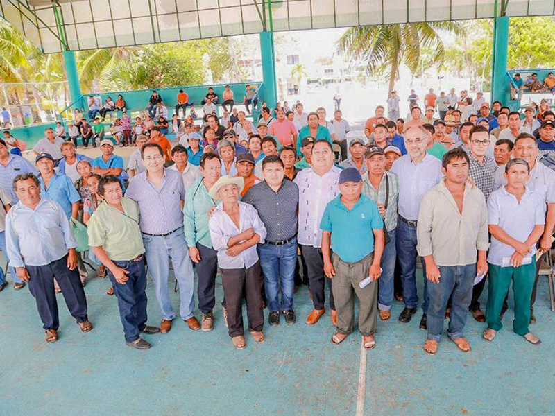 Campesinos reciben Apoyos del Programa Producción para el Bienestar 2019