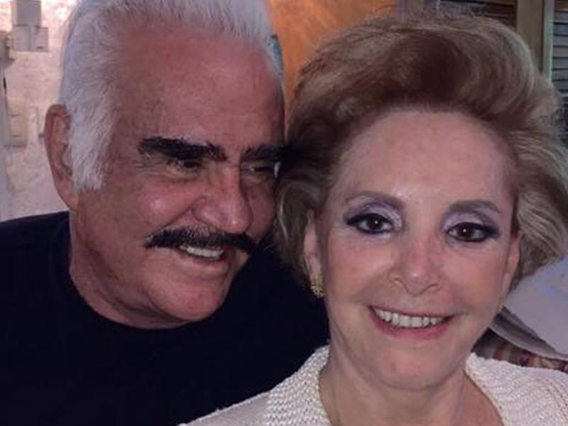 """Así demuestra Vicente Fernández el amor que le tiene a """"Cuquita"""""""
