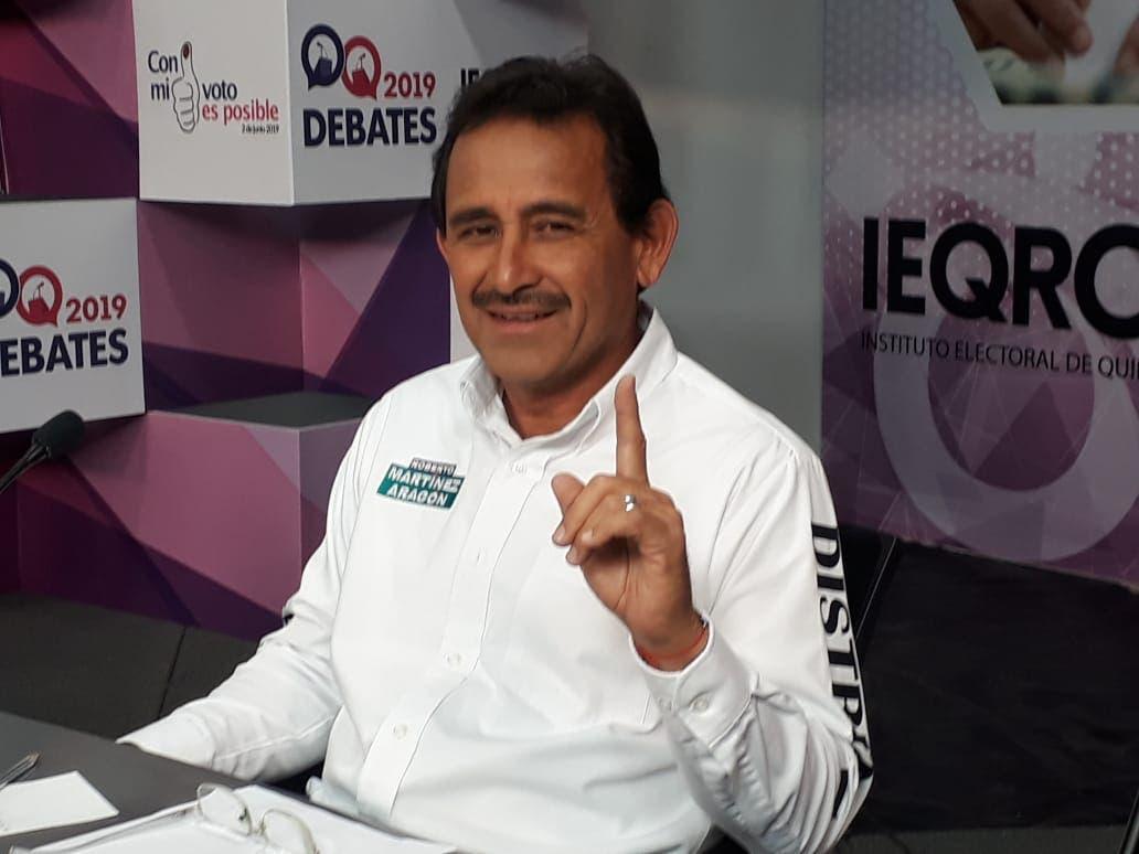 Roberto Martínez promete a quintanarroenses resultados y no demagogia legislativa