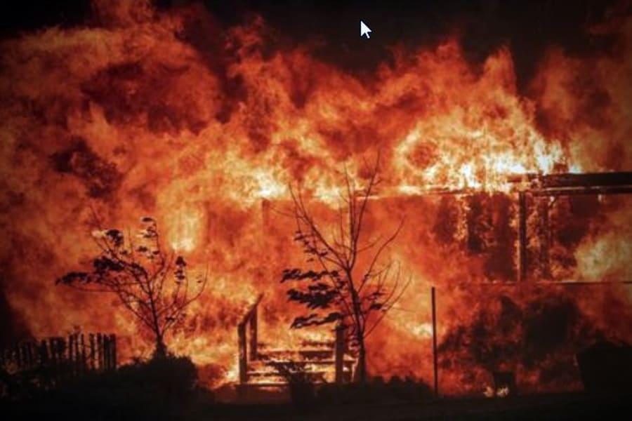 Incendio deja sin agua a pobladores de Yucatán