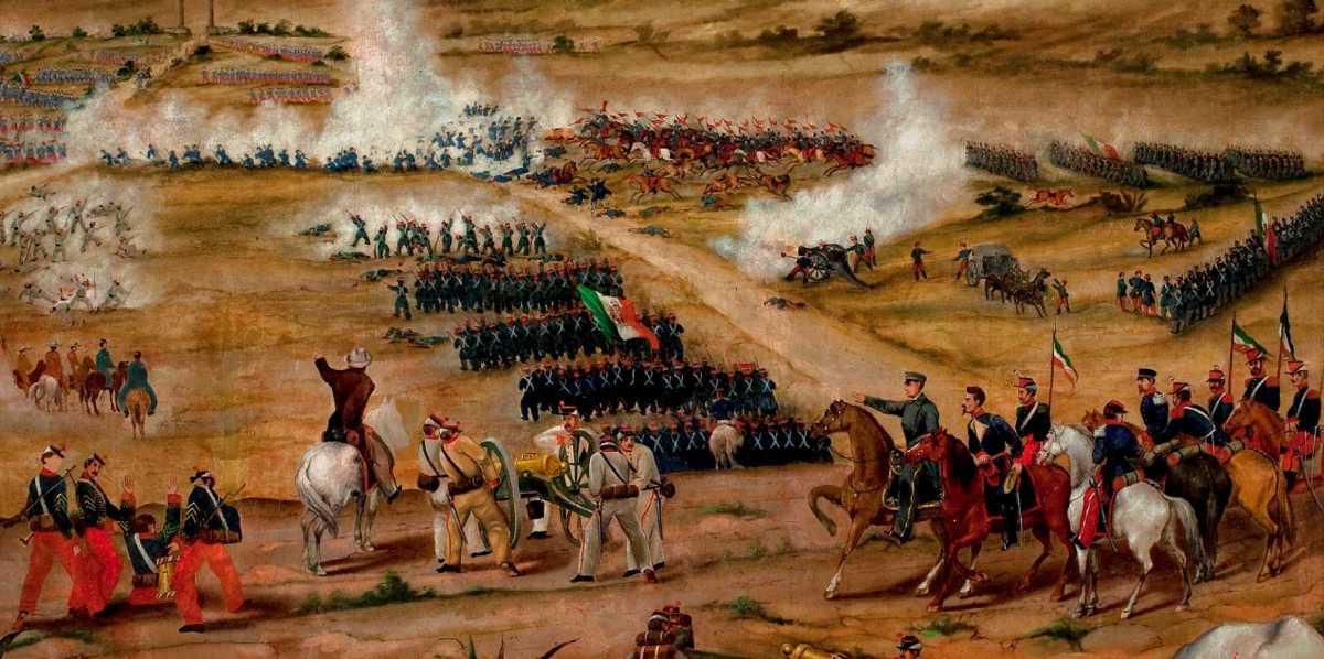 El ejército mexicano derrotó a las tropas francesas