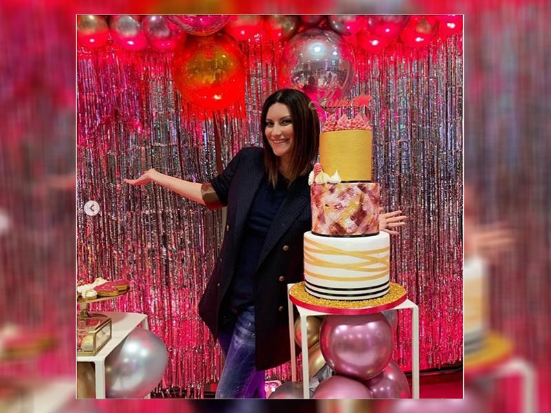 El regalo de cumpleaños que hizo llorar a Laura Pausini