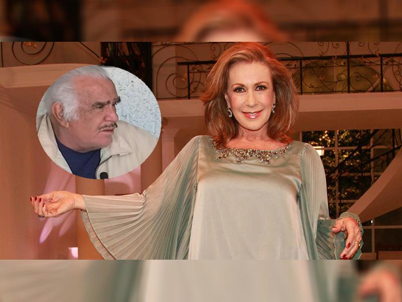 """Laura Zapata defiende a Vicente Fernández tras comentario """"homofóbico"""""""