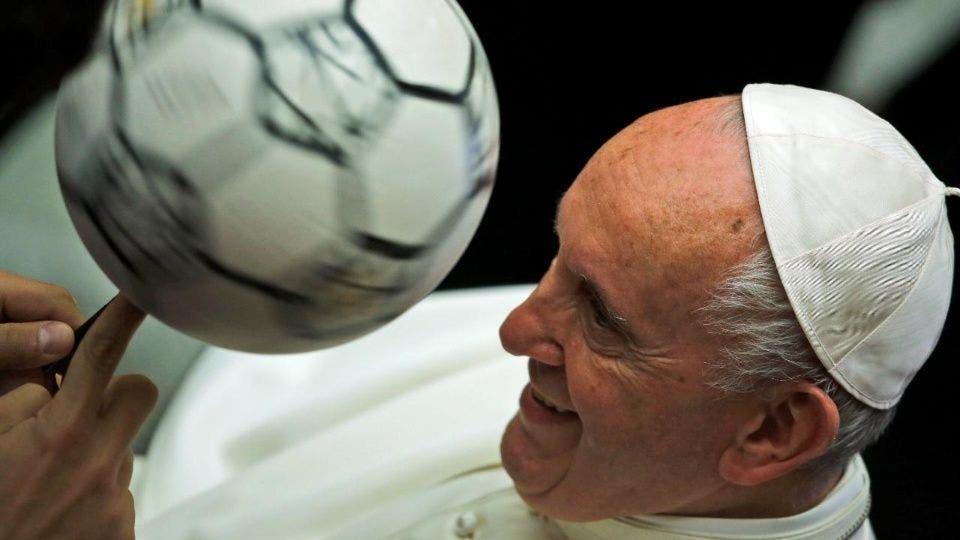 El Papa Francisco asegura que el fútbol es el deporte más bello del mundo