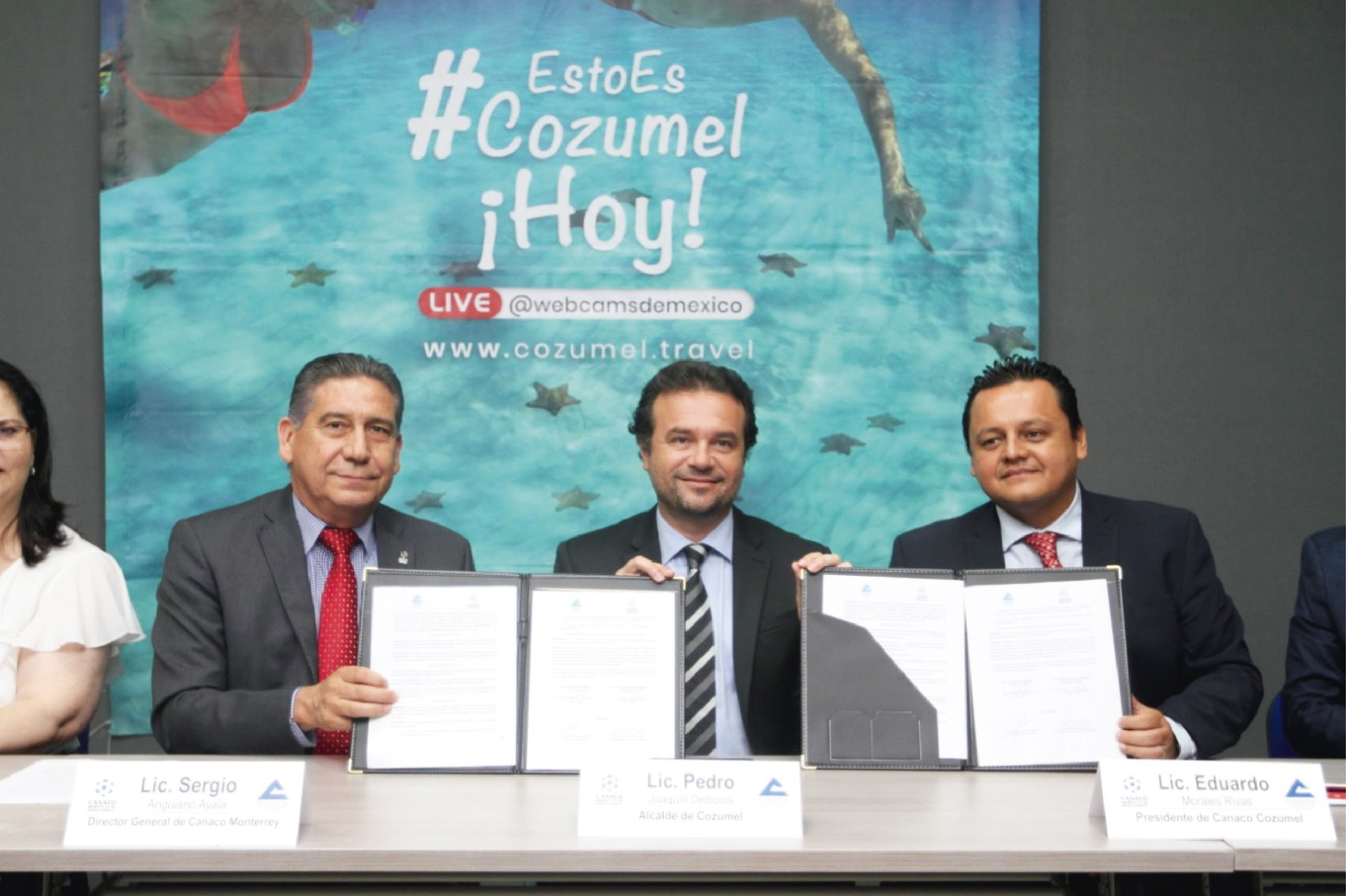 """Con campaña """"#EstoEsCozumelHoy"""", va Pedro Joaquín por turismo regio"""