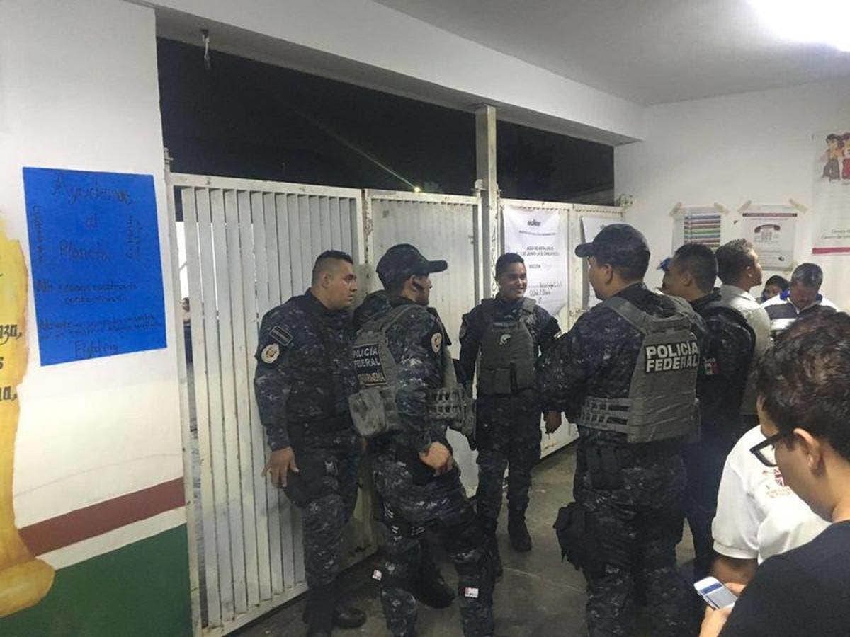 Operativos para garantizar seguridad durante elecciones