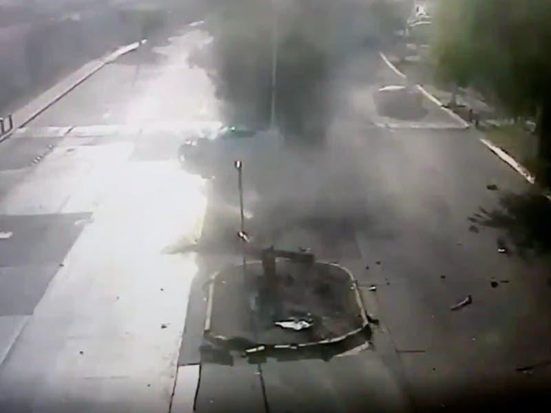 Filtran video del accidente de Joao Maleck que dejó dos personas muertas