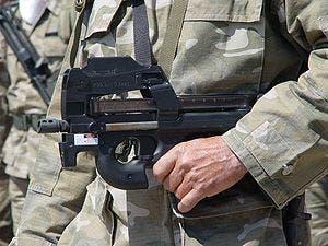 """Arma FN P-90 o mejor conocida como """"mata policías"""""""