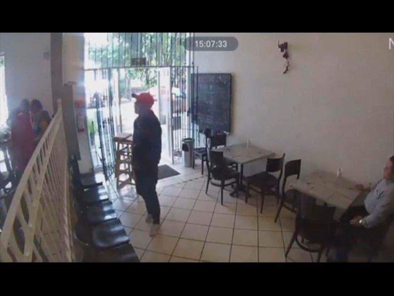 Captan asalto a mano armada en restaurante