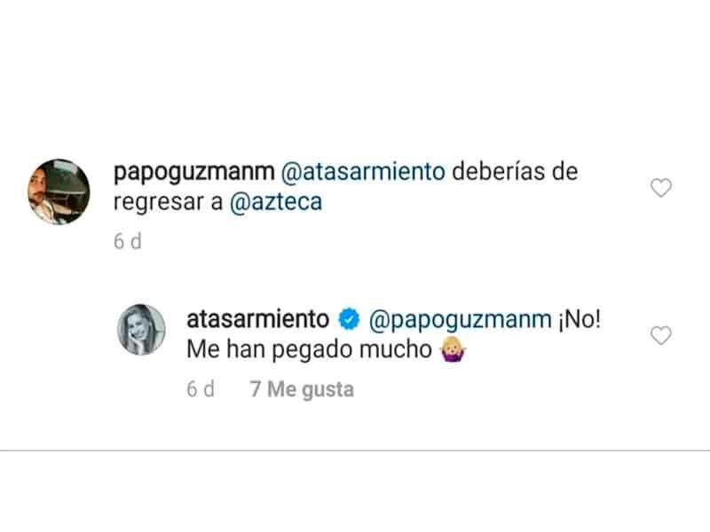 Atala Sarmiento dice a Ventaneando: Jamás regresaré
