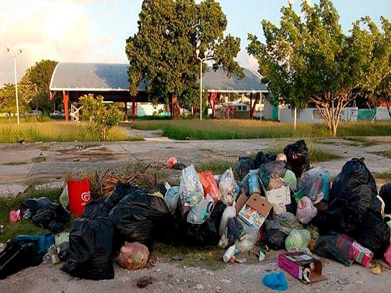 Son más de 360 toneladas de basura que se generan diariamente