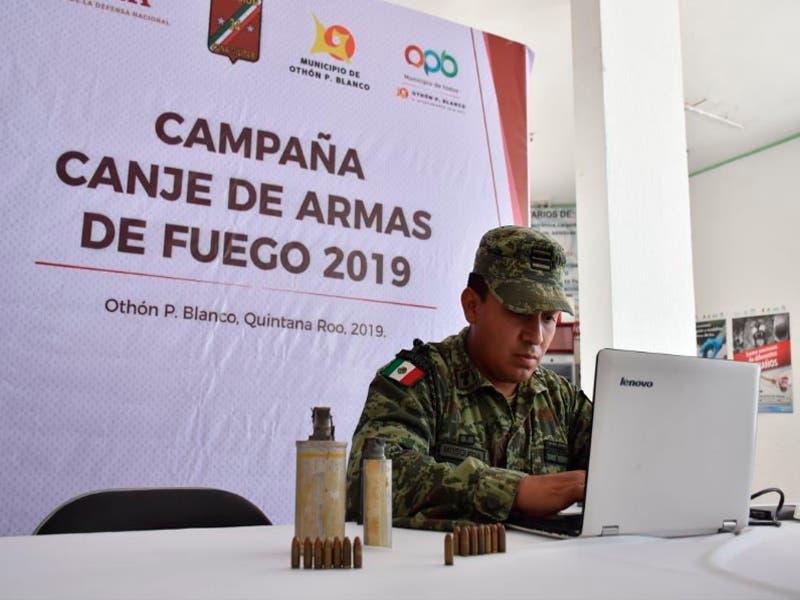Desde muy temprana hora arrancó el programa de canje de armas de fuego 2019