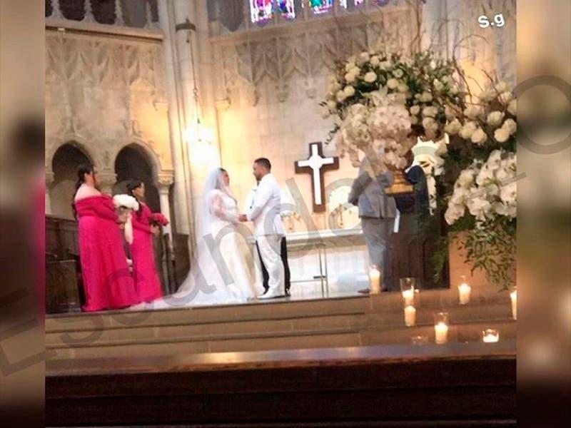 Chiquis Rivera se casó ayer con Lorenzo Méndez
