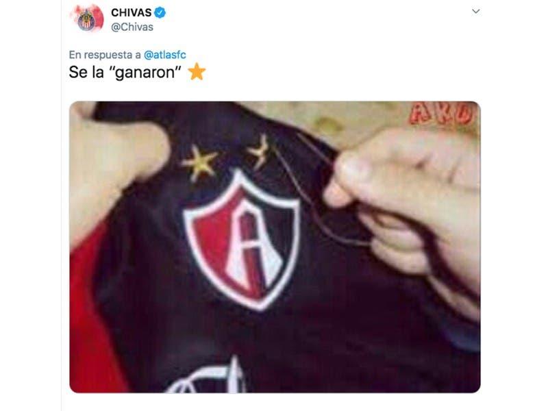 Liga MX: Atlas se burla de Chivas y el Rebaño da épica respuesta