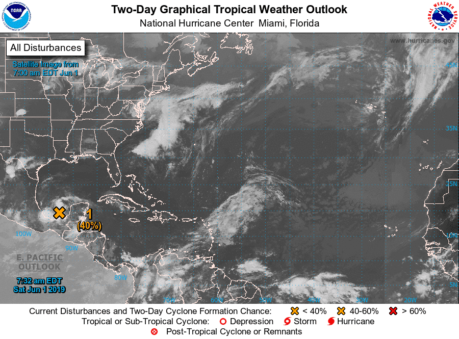 Vigila Quintana Roo el paso de perturbación meteorológica.