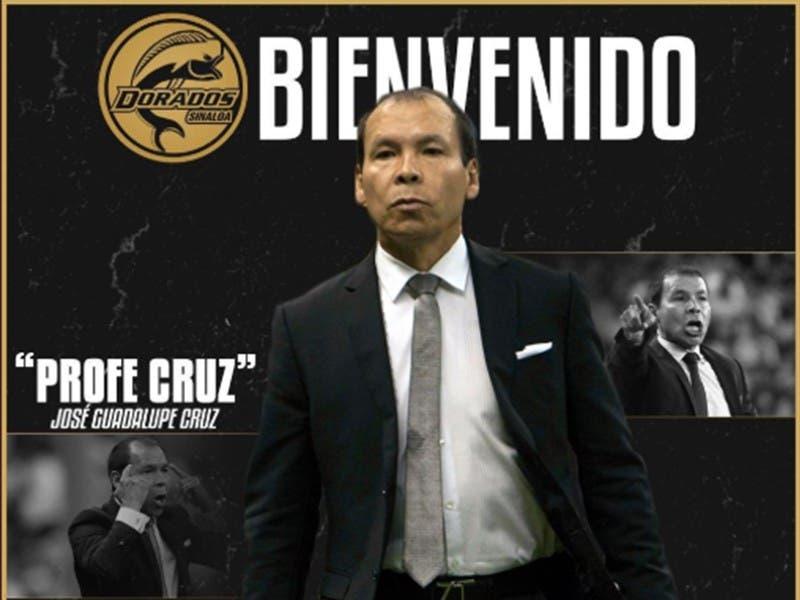 Ascenso MX: 'Profe' Cruz es el nuevo Director Técnico de Dorados