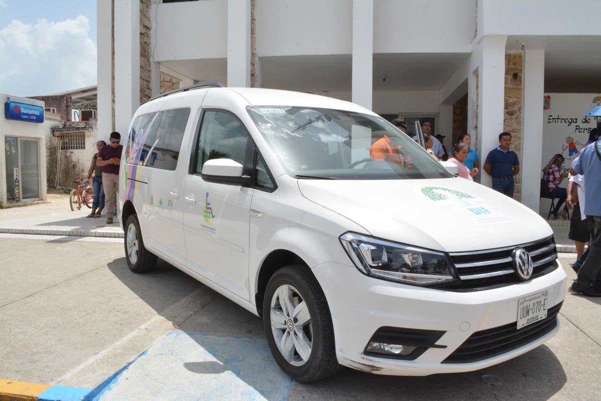 Vehículo para personas con discapacidad en Felipe Carrillo