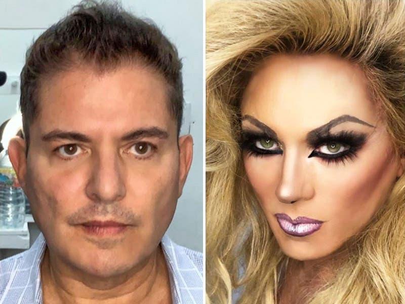 Ernesto Laguardia se convierte en mujer