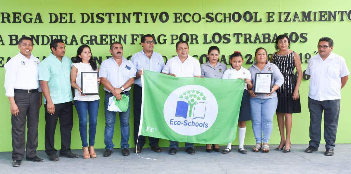Se otorga este reconocimiento a planteles que llevan a cabo programas de sensibilización en el cuidado del medio ambiente