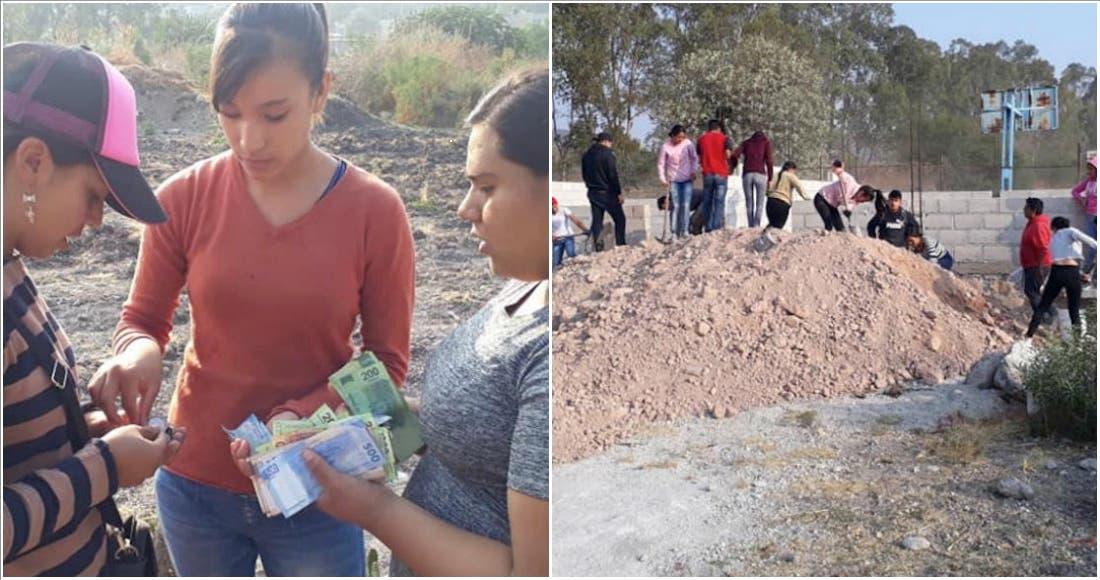 Donan parte de la beca de AMLO para construir su escuela