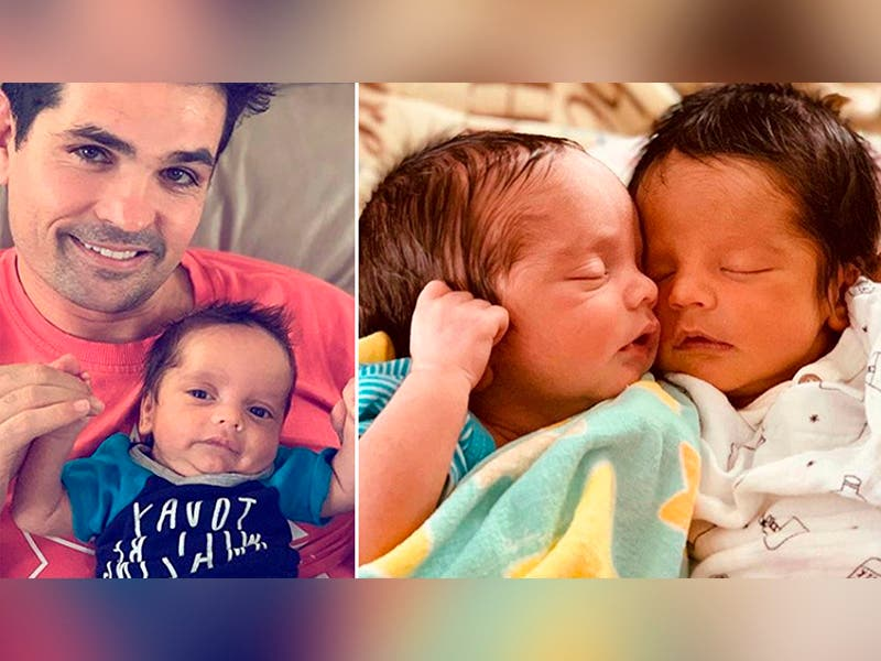 Ferdinando Valencia pide orar por su bebé que regresó al hospital
