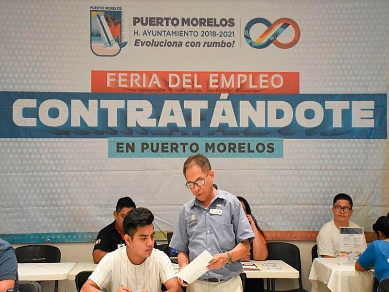 Facilita gobierno de Laura Fernández contratación de portomorelenses con feria del empleo