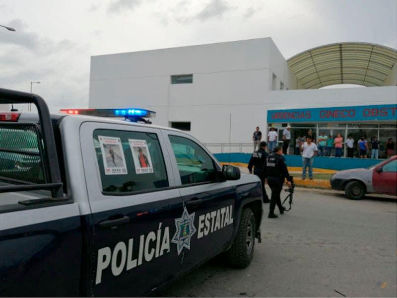 Reportan hombre armado en el Hospital General de Playa del Carmen