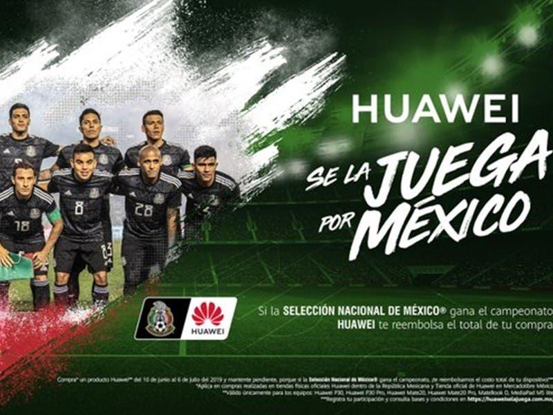 Copa Oro 2019: Huawei te regala un celular si México es Campeón