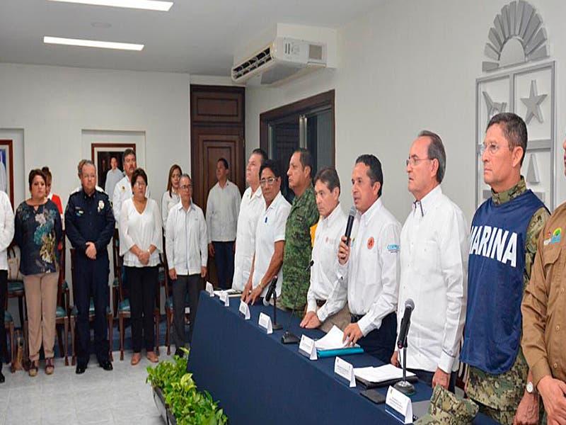 Listo Quintana Roo ante temporada de huracanes 2019