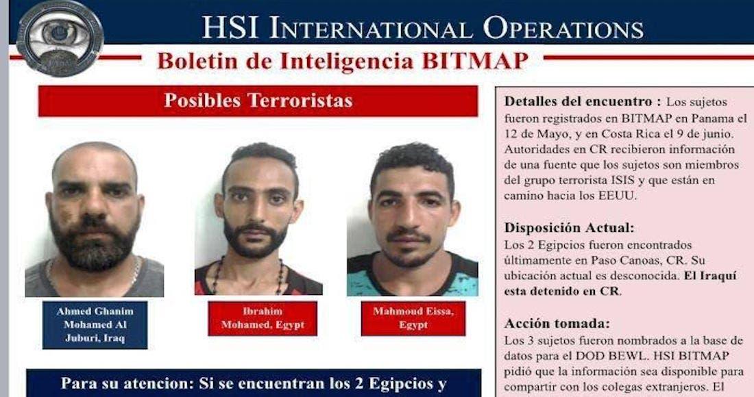 Terroristas de ISIS atrapados en Nicaragua