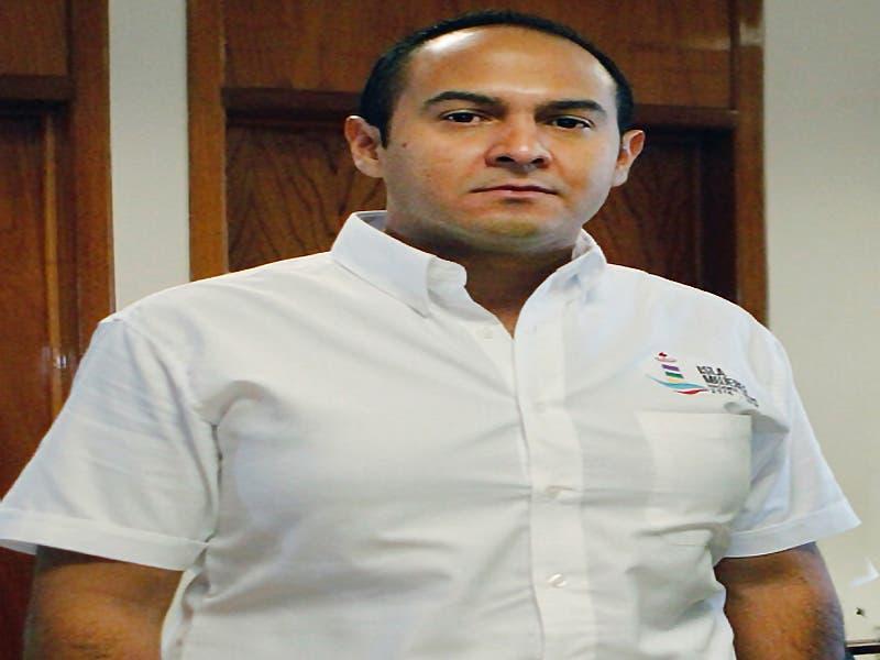 Presidente municipal de Cozumel , Juan Carrillo Soberanis.