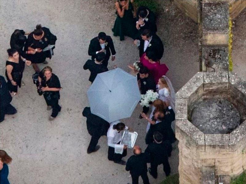 Sophie Turner y Joe Jonas su segunda boda ahora en Francia