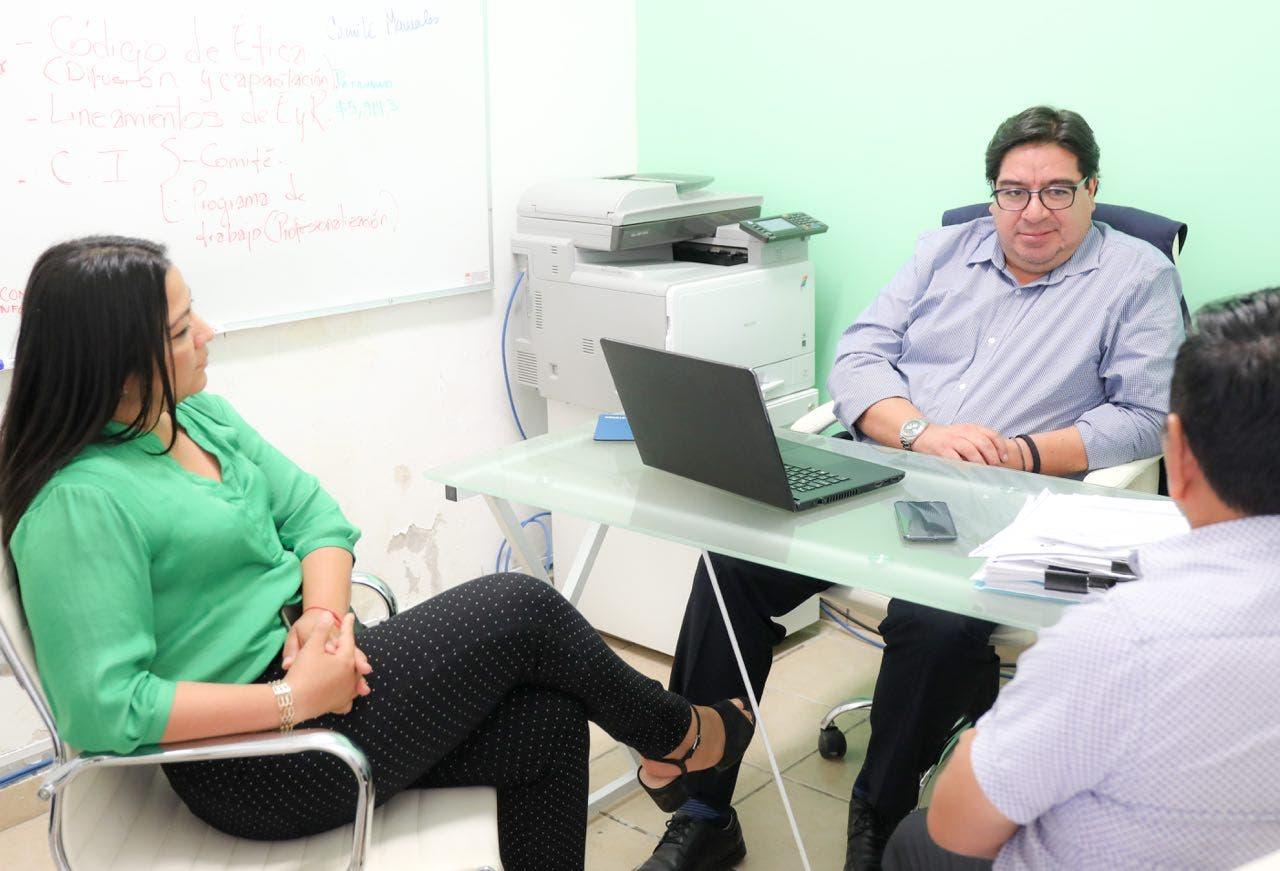 """Con tres años de historia como municipio y una estructura administrativa reciente, se ha dado solidez a la cultura de legalidad y transparencia"""", destaca Laura Fernández"""