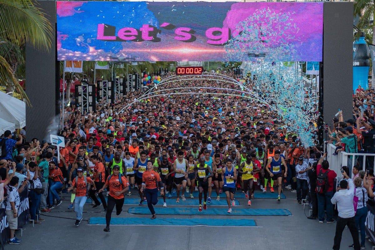 Cambian de nombre al Maratón Internacional de Cancún.