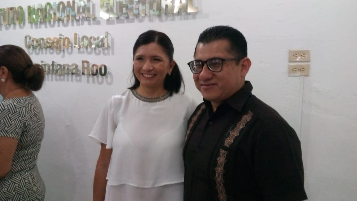 Consejera presidenta del Instituto Electoral de Quintana Roo (IEQROO), Mayra San Román Carrillo Medin