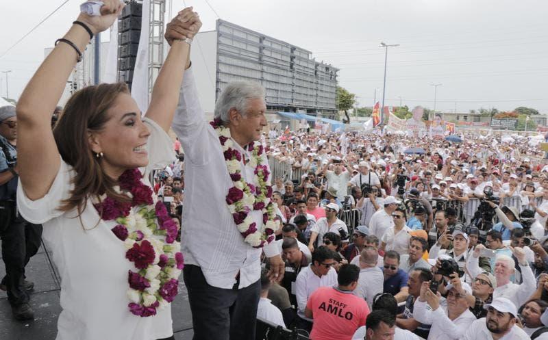 """""""Mujer honesta y trabajadora"""": AMLO de Mara Lezama"""