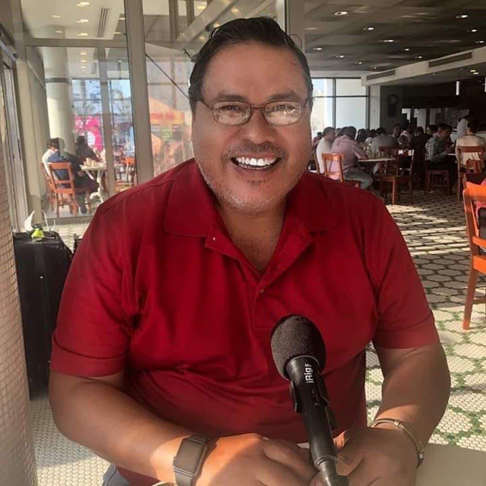 El periodista Marcos Miranda Cogco, fue secuestrado hoy en la localidad de Boca del Río, Veracruz.