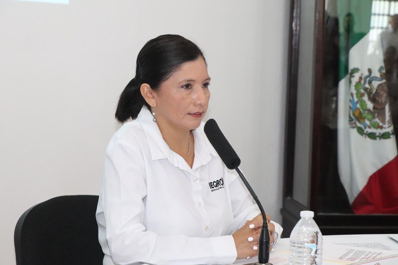 Consejera Presidenta del Instituto Electoral de Quintana Roo Mayra San Roman Carrillo Medina