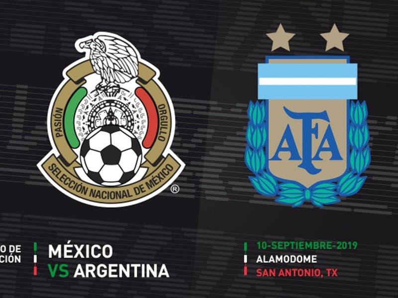 México enfrentará amistoso contra Argentina en septiembre