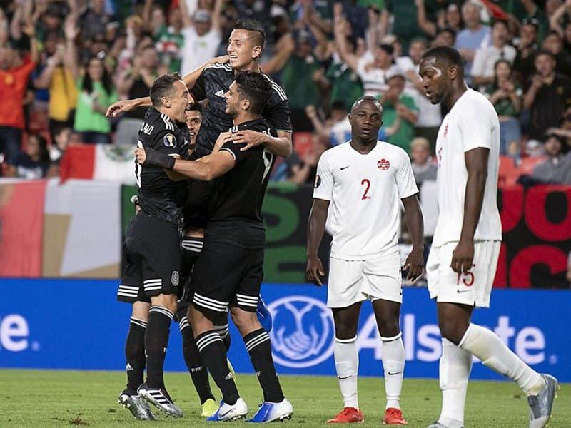 Copa Oro 2019: México vence a Canadá y se instala en Cuartos