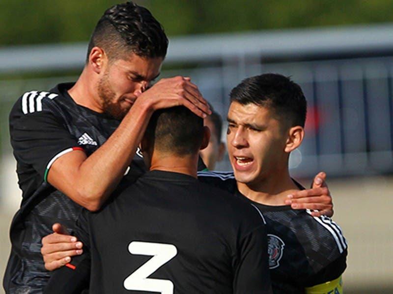 México Sub-22 debuta con triunfo en el Torneo Maurice Revello