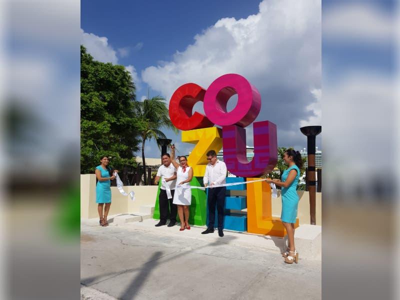 Parador fotográfico en Cozumel